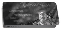 Christmas Everywhere Portable Battery Charger by Caitlyn Grasso