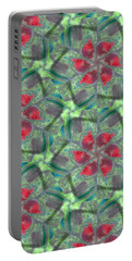 Christmas Flowers Portable Battery Charger