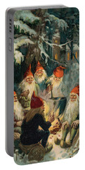 Christmas Gnomes Portable Battery Charger