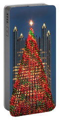 Portable Battery Charger featuring the photograph Christmas In Pittsburgh 2016  by Emmanuel Panagiotakis