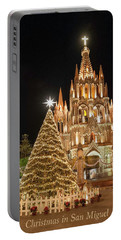 Christmas In San Miguel Portable Battery Charger
