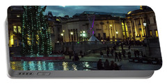 Christmas In Trafalgar Square, London 2 Portable Battery Charger