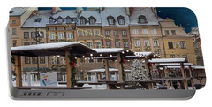 Portable Battery Charger featuring the photograph Christmas In Warsaw by Juli Scalzi
