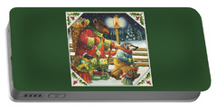 Christmas Journey Portable Battery Charger