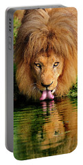 Christmas Lion Portable Battery Charger