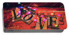 Christmas Love Decoration Portable Battery Charger