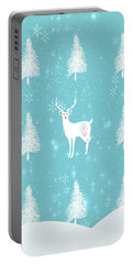 Christmas Dawn - White Stag Portable Battery Charger