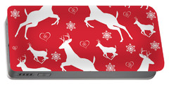Christmas Pattern Portable Battery Charger