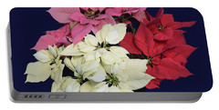 Christmas Pointsettias Portable Battery Charger