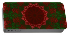 Christmas Quilt Portable Battery Charger