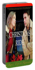 Christmas Ride Poster 16 By Karen E. Francis Portable Battery Charger