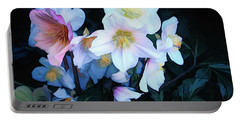 Christmas Rose Portable Battery Charger