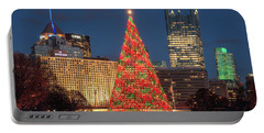 Portable Battery Charger featuring the photograph Christmas  Season In Pittsburgh  by Emmanuel Panagiotakis