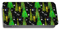 Christmas Snow Fall - Pattern Portable Battery Charger
