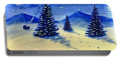 Christmas Snow Portable Battery Charger