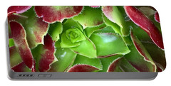Christmas Succulent Portable Battery Charger by Russell Keating