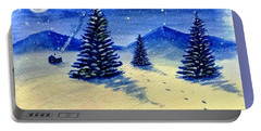 Christmas Time Portable Battery Charger