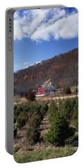 Christmas Tree Shopping Portable Battery Charger by Nicki McManus