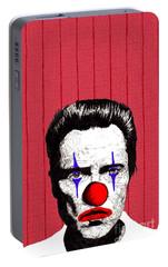 Portable Battery Charger featuring the drawing Christopher Walken 2 by Jason Tricktop Matthews