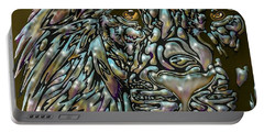 Chrome Lion Portable Battery Charger