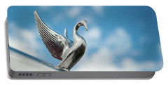 Chrome Swan Portable Battery Charger