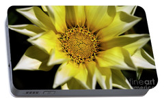 Portable Battery Charger featuring the photograph Chrysanthos by Linda Lees
