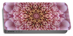 Chrysanthemum Kaleidoscope Portable Battery Charger