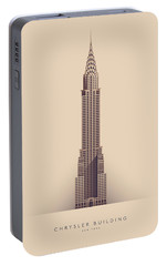 Chrysler Building Portable Battery Charger by Ivan Krpan