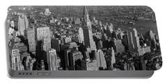 Chrysler Building - Manhattan Skyline - 1932 Portable Battery Charger