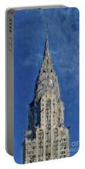 Chrysler Building, New York City Portable Battery Charger