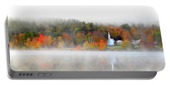 Church Across The Lake Portable Battery Charger