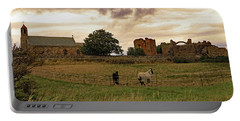 Portable Battery Charger featuring the photograph Church And Priory by Tony Murtagh
