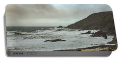 Portable Battery Charger featuring the photograph Church Cove Gunwallow by Brian Roscorla