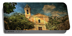 Church In Peillon Portable Battery Charger