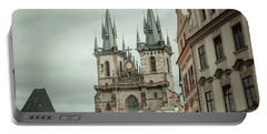Portable Battery Charger featuring the photograph Church Of Our Lady Before Tyn by Jenny Rainbow