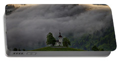Portable Battery Charger featuring the photograph Church Of St. Thomas - Slovenia by Stuart Litoff