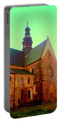 Church Of The Blessed Virgin Mary And St. Florian In The Wachock Portable Battery Charger