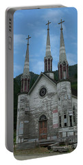 Portable Battery Charger featuring the photograph Church Of The Holy Cross by Rod Wiens