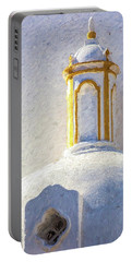 Church Steeple Of Portugal Portable Battery Charger