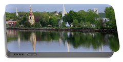 Churches, Mahone Bay, Nova Scotia Portable Battery Charger