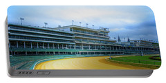 Churchill Downs Racetrack In Louisville Portable Battery Charger