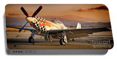 Cielos Llcs P-51 Mustang Buzzin Cuzzin  44-84735 Version 2 Portable Battery Charger