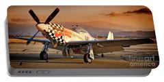 Cielos Llcs P-51 Mustang Buzzin Cuzzin  44-84735 Version 2 Portable Battery Charger