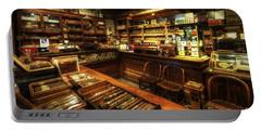 Cigar Shop Portable Battery Charger
