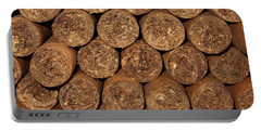 Cigars 262 Portable Battery Charger by Michael Fryd