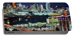 Cincinnati And Covington Collide Portable Battery Charger