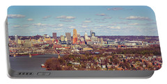 Cincinnati Skyline 2 Portable Battery Charger by Scott Meyer
