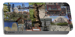 Portable Battery Charger featuring the photograph Cincinnati's Favorite Landmarks by Robert Glover