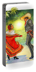 Cinco De Mayo Dancers Portable Battery Charger