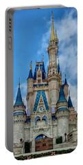 Cinderella Castle Portable Battery Charger